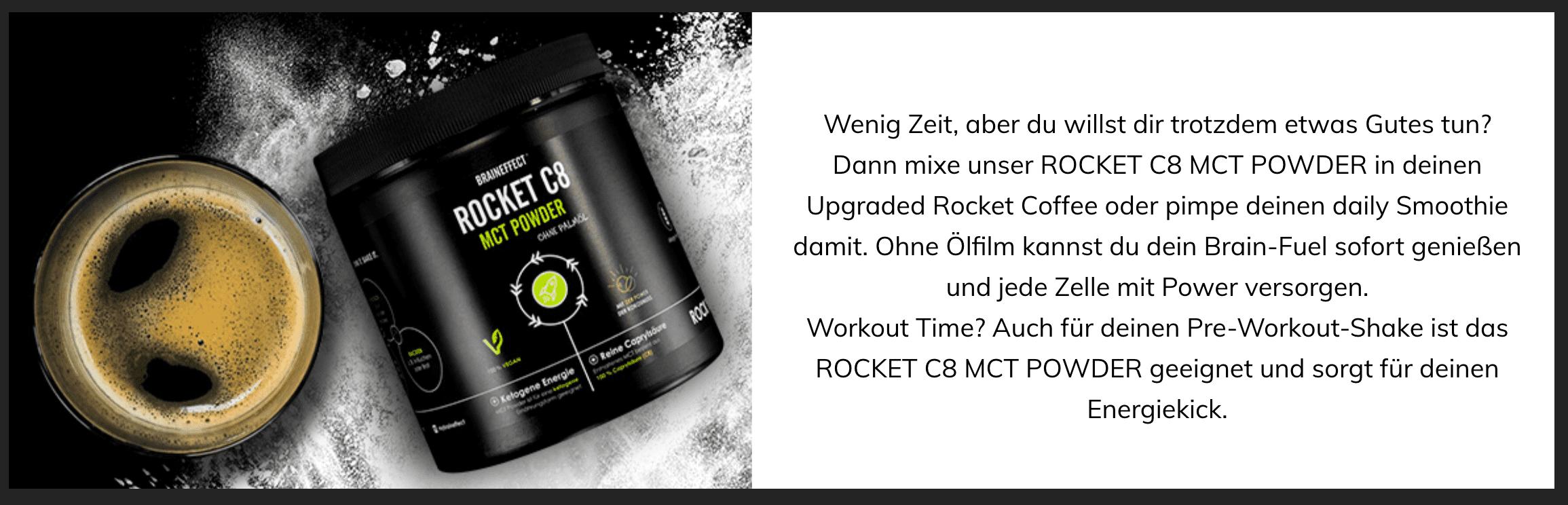 Braineffect | Rocket MCT Powder