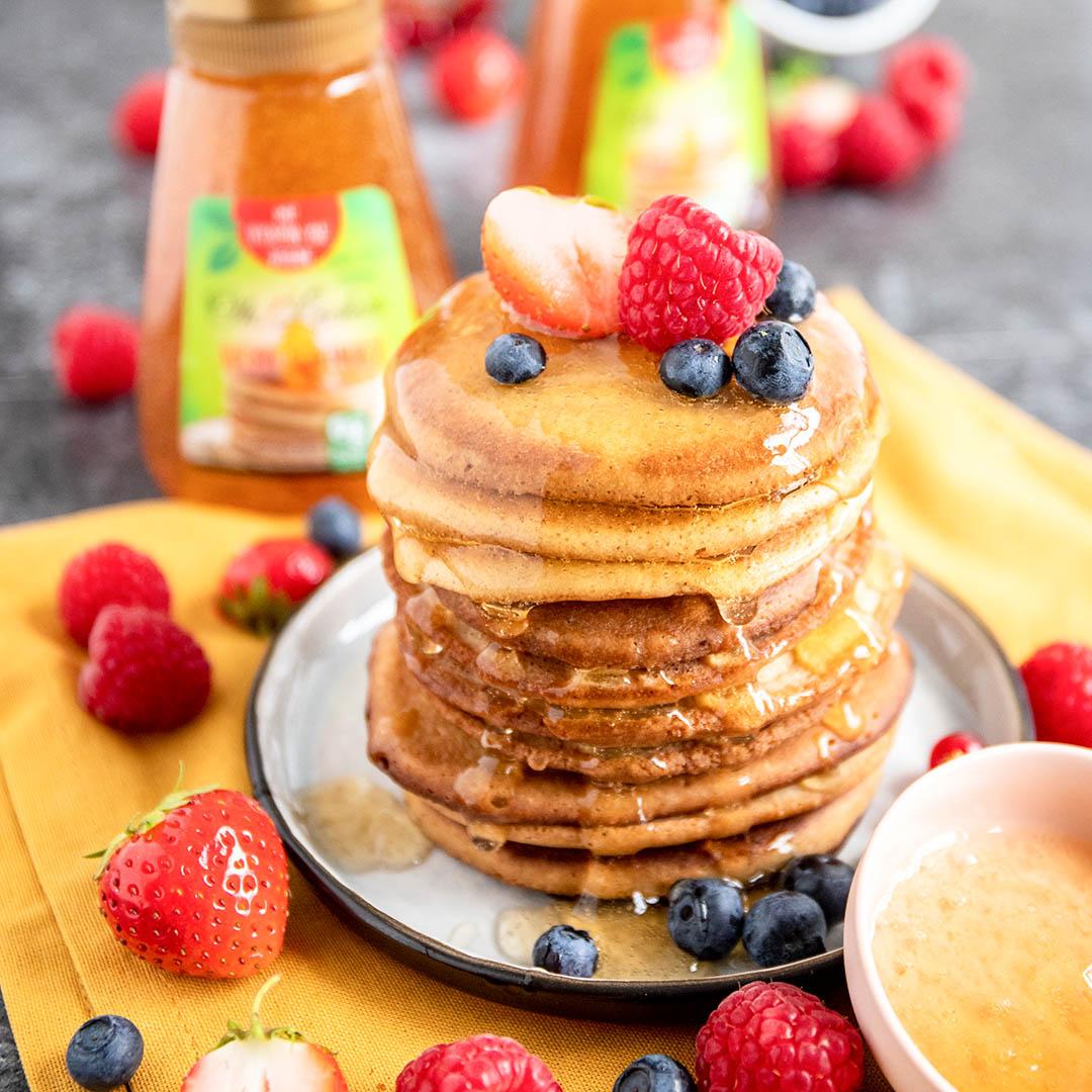 Pancake oh Lecker Ahorn Sirup