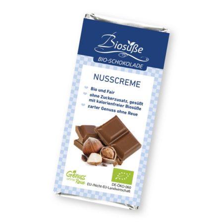 erythrit schokolade haselnuss nusscreme biosuesse