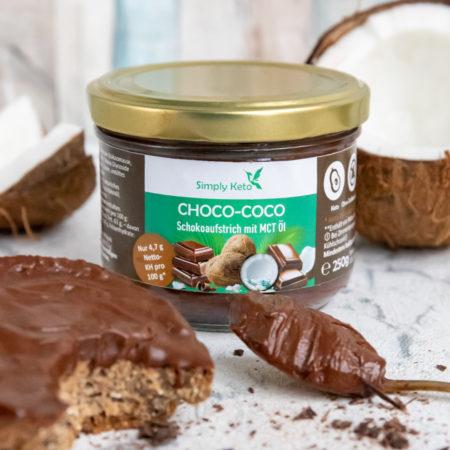 Low-Carb lowcarb keto choco coco creme schoko kokos aufstrich